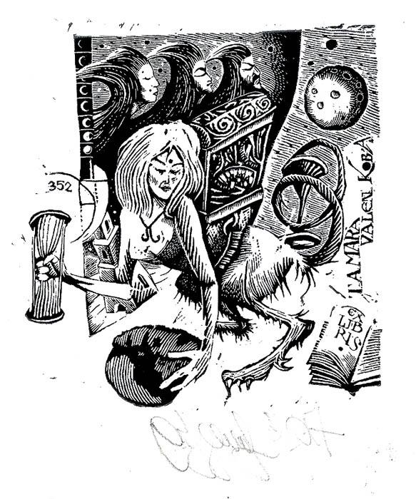 Ex libris Tamara Valenkova