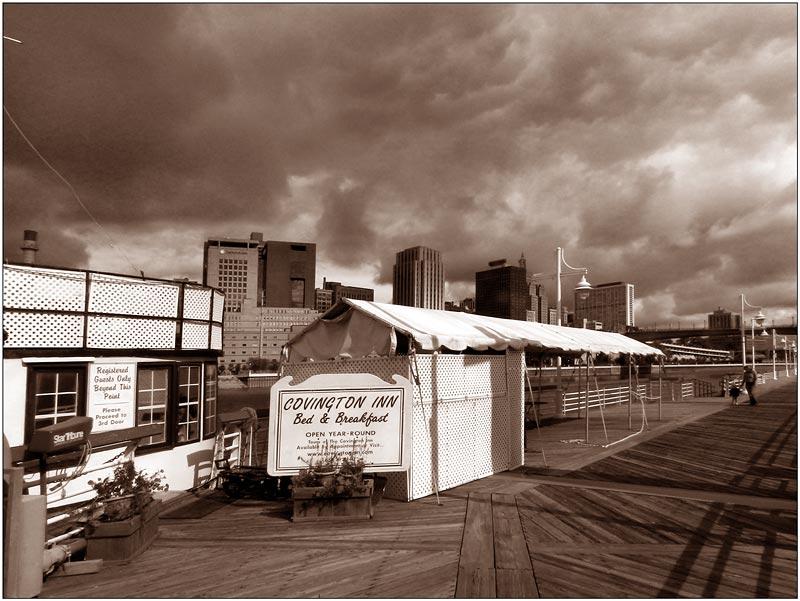 Cloudy Day. Saint Paul