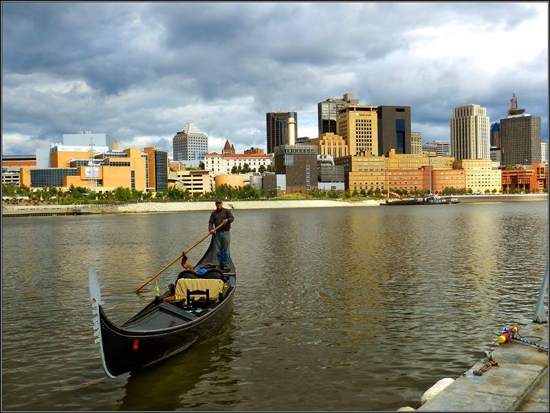 Missisipi River & Saint Paul