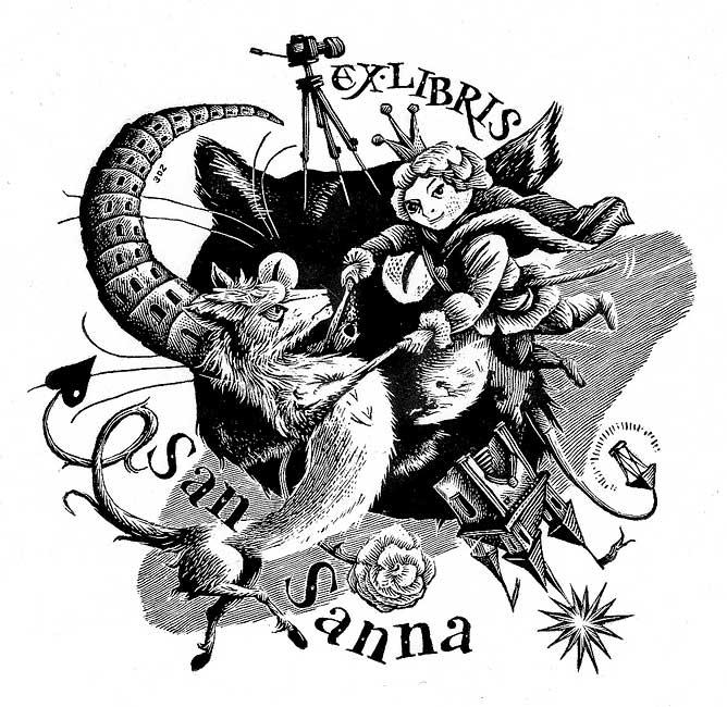Ex libris San Sanna