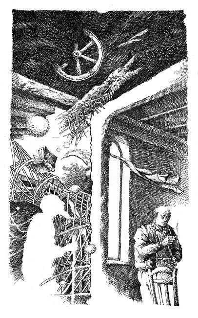 """Father's spirit"". Illustration"