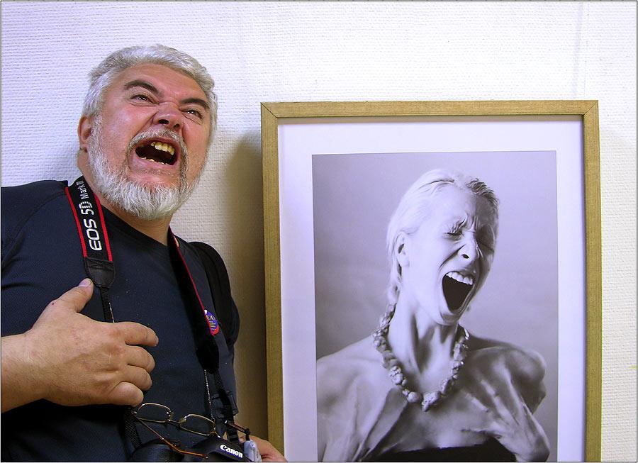 Photographer & his model