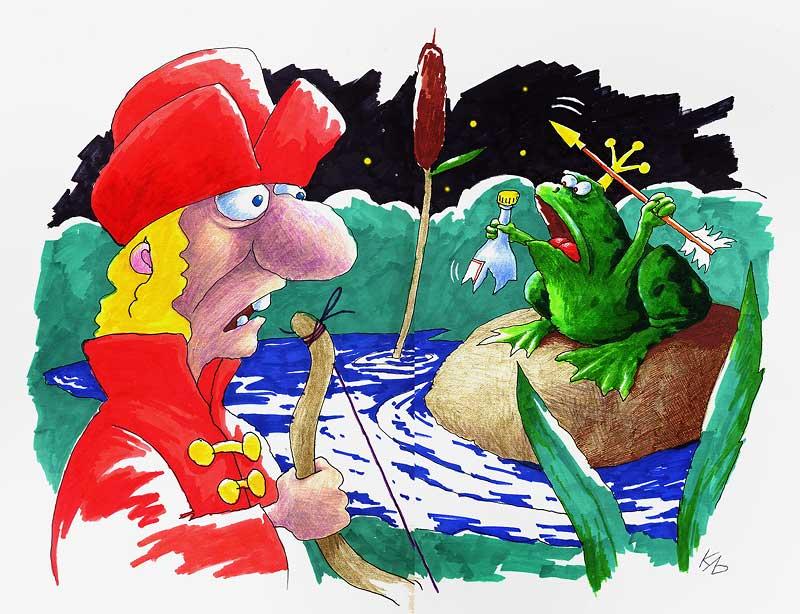 Прикольные картинки иван царевич и жаба, сделать